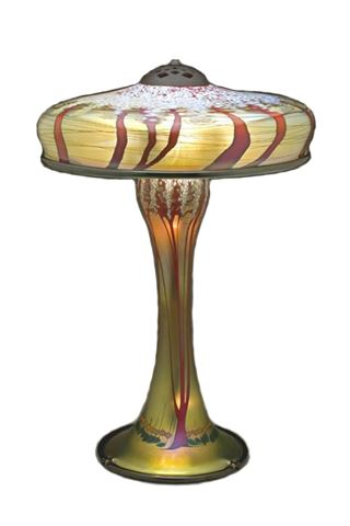 Picture of Magnum Gold Cherry Blossom Table Lamp