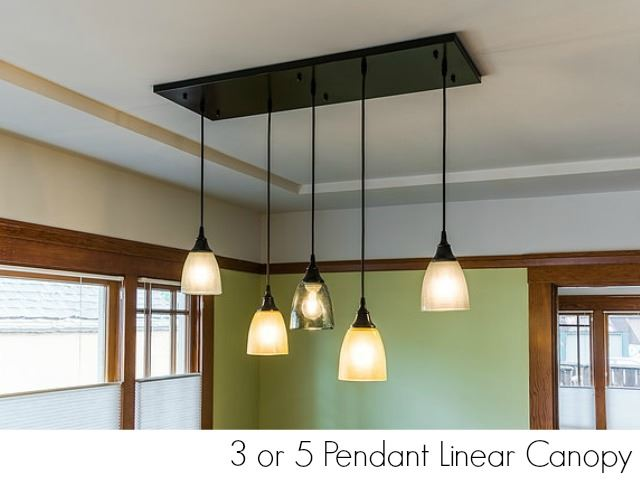 Picture of Clear Glass Pendant Light in Sky Blue