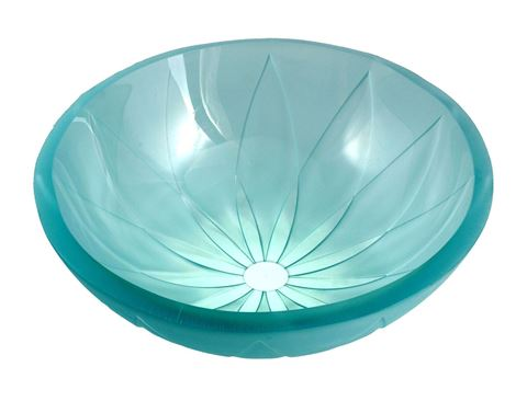 Pinwheel Glass Sink