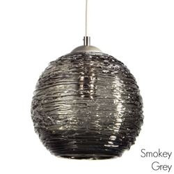 Picture of Spun Glass Pendant Light | Smokey I