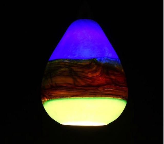 Picture of Blown Glass Pendant Light | Strata CS