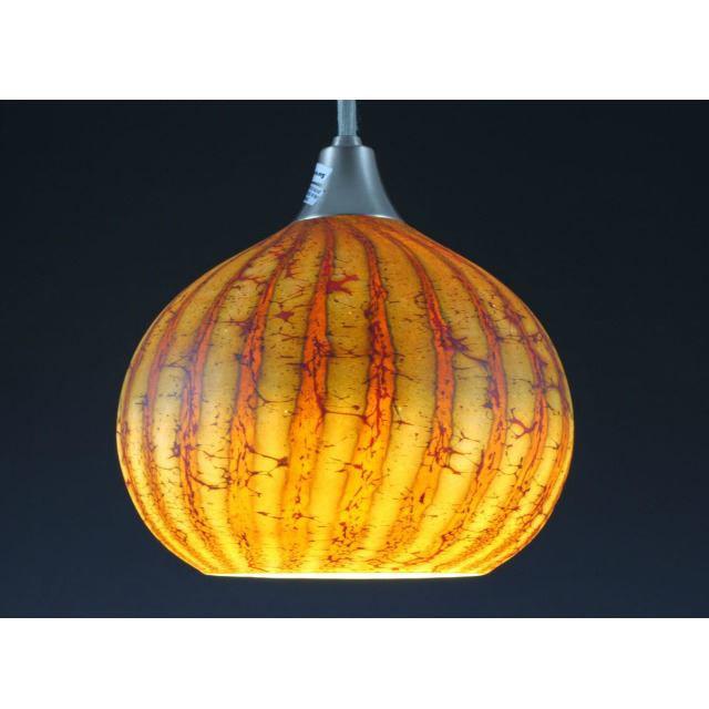 Picture of Blown Glass Pendant Light | Batik I