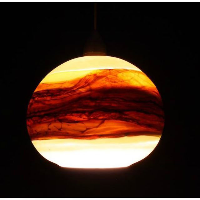 Picture of Blown Glass Pendant Light | Strata OL