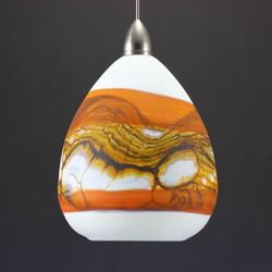 Blown Glass Pendant Light | Strata OT