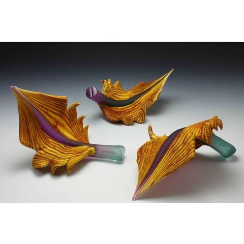Blown Glass Arbors | Amethyst Sage