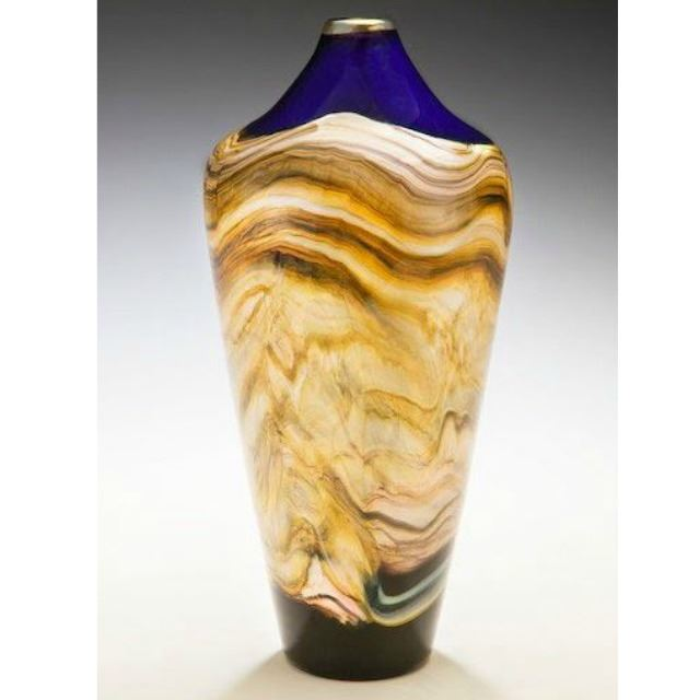 Picture of Blown Glass Vase | Closed Strata
