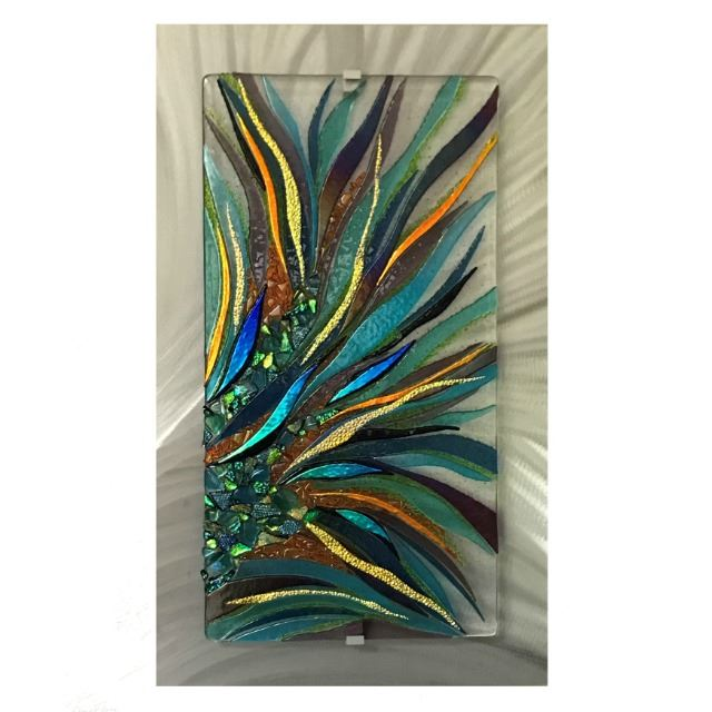Picture of Natures Umbrella Glass Wall Panel
