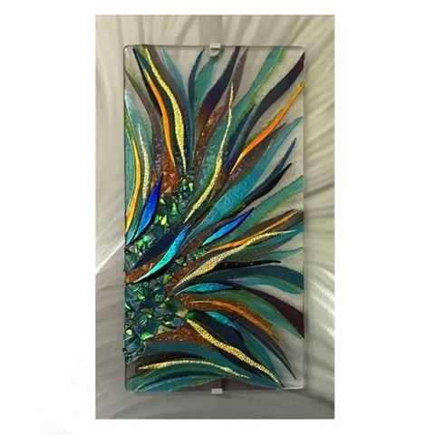 Natures Umbrella Glass Wall Panel