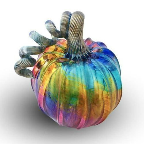 Picture of Unicorn Glass Pumpkin