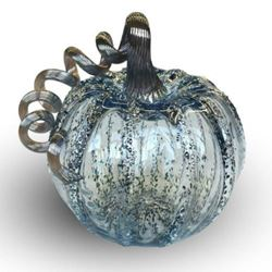 Picture of Happily Ever After Glass Pumpkin