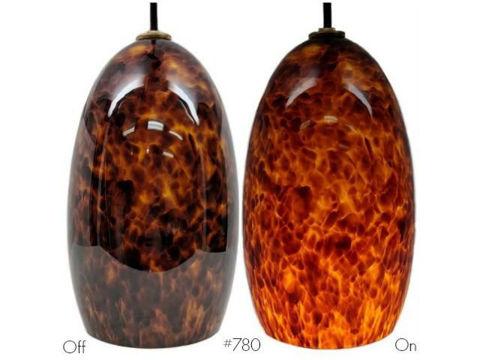 Blown Glass Pendant Light | Campfire