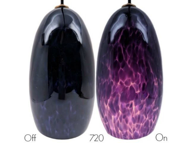 Picture of Blown Glass Pendant Light | Hyacinth