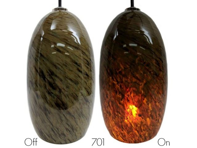 Picture of Blown Glass Pendant Light | Gracilaria