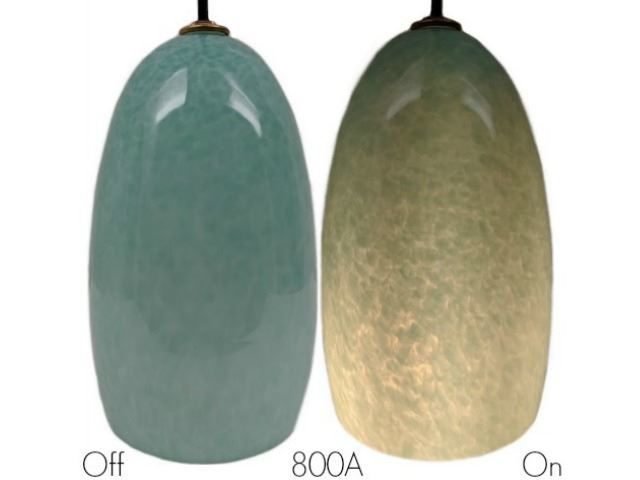 Picture of Blown Glass Pendant Light | Celadon
