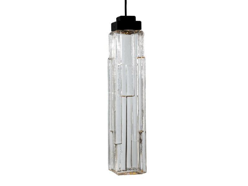 Picture of Blown Glass Pendant Light | Ledgestone