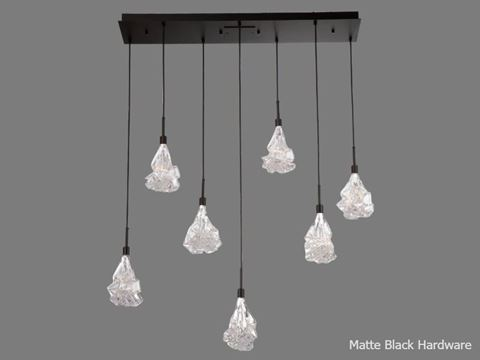 Linear Chandelier | Blossom 7