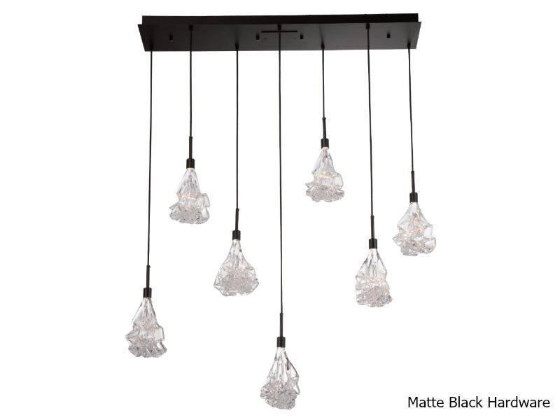 Picture of Linear Chandelier | Blossom 7
