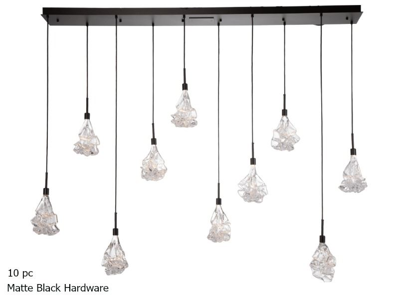 Picture of Linear Chandelier   Blossom 9