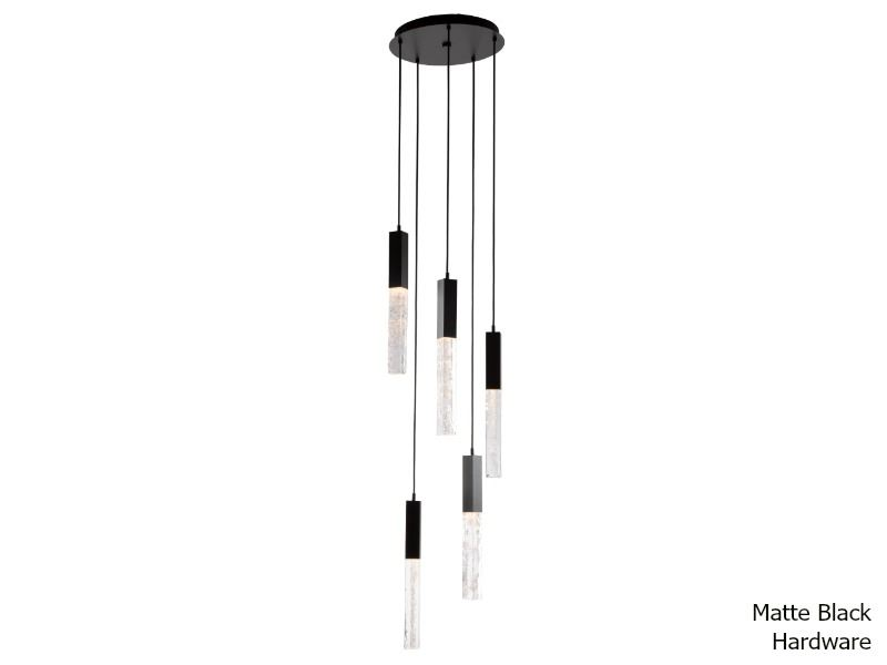 Picture of Axis Round Multi-Port Chandelier 5 pc