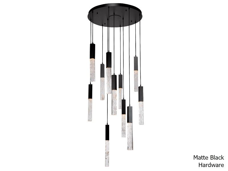 Picture of Axis Round Multi-Port Chandelier 11 pc