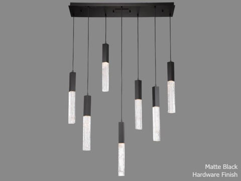 Linear Chandelier | Axis | 7 pc