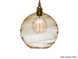 Blown Glass Pendant Light | Terra