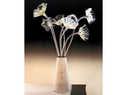 Picture of Blown Glass Sculpture - Flower Vase