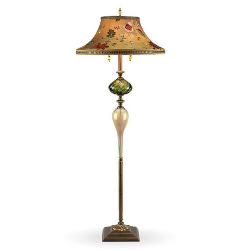 Picture of Kinzig Floor Lamp - Freddy in Green
