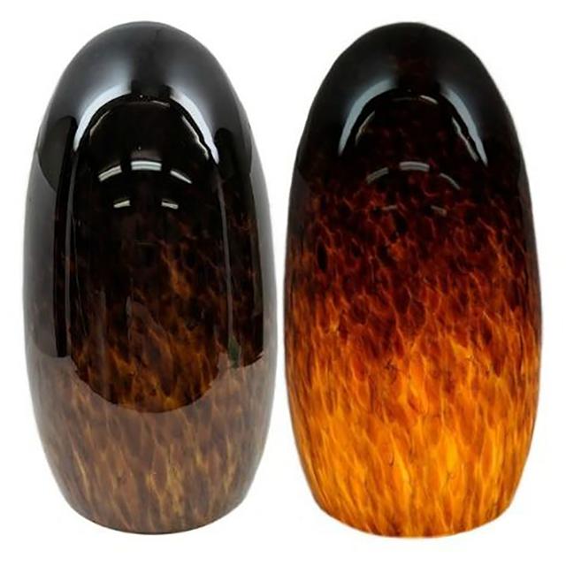 Picture of Blown Glass Pendant Light   Espresso
