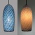 Picture of Blown Glass Pendant Light | Indigo