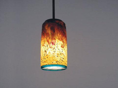 Blown Glass Pendant Light   Whitney - SALE