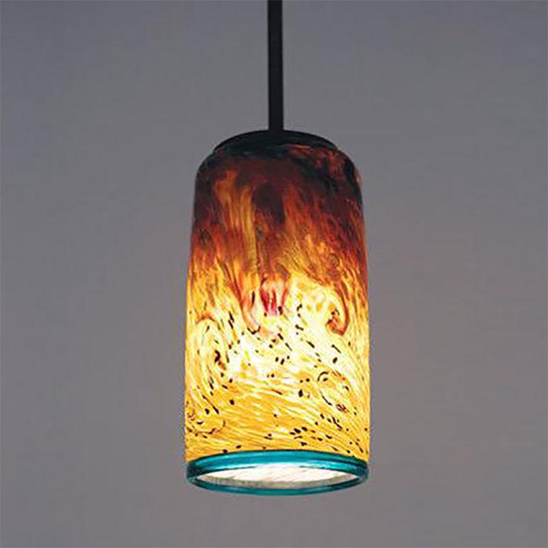 Blown Glass Pendant Light   Whitney